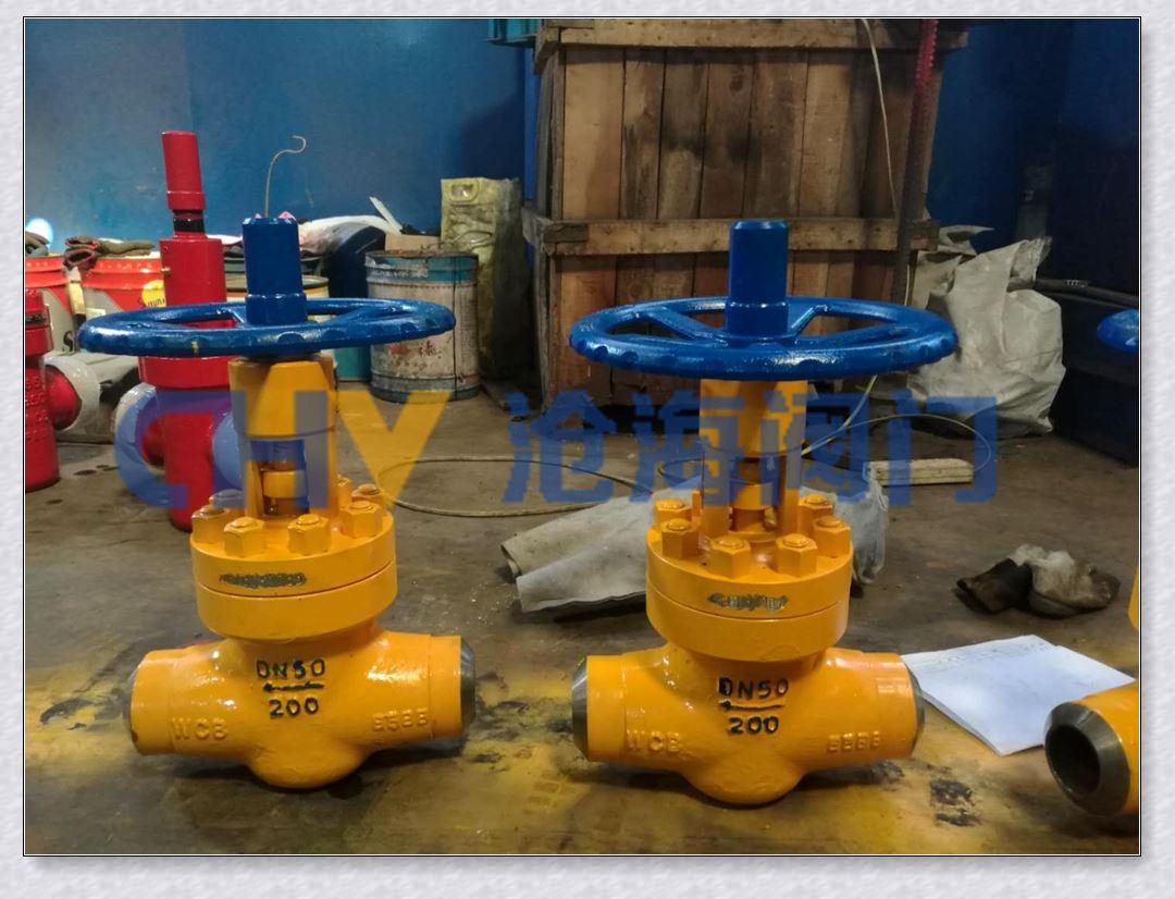BJ66Y-160油田高压专用节流截止阀