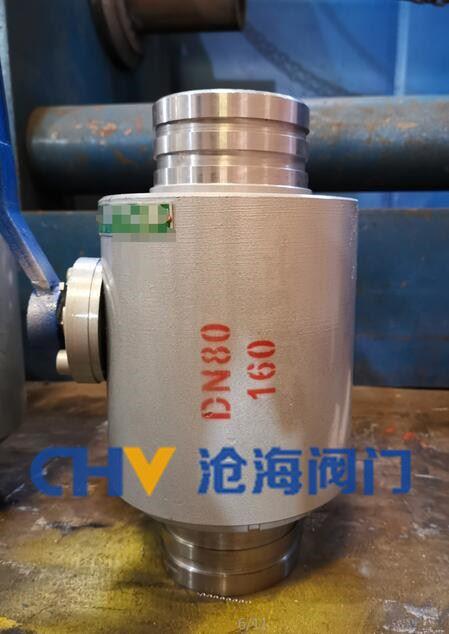 CHQ91F高压锻钢沟槽球阀