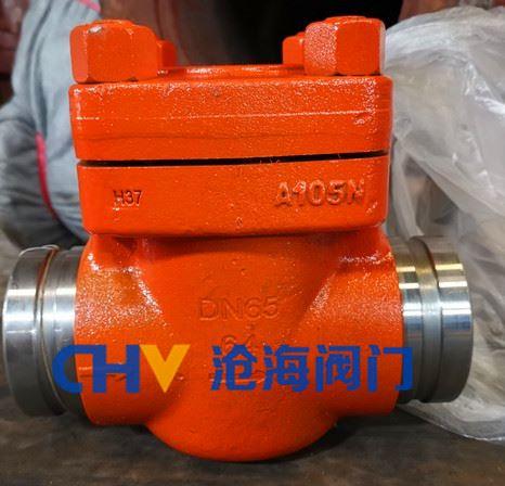 GYH91Y高压沟槽止回阀/沟槽单向阀