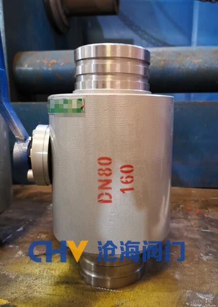 T80G特高压沟槽球阀