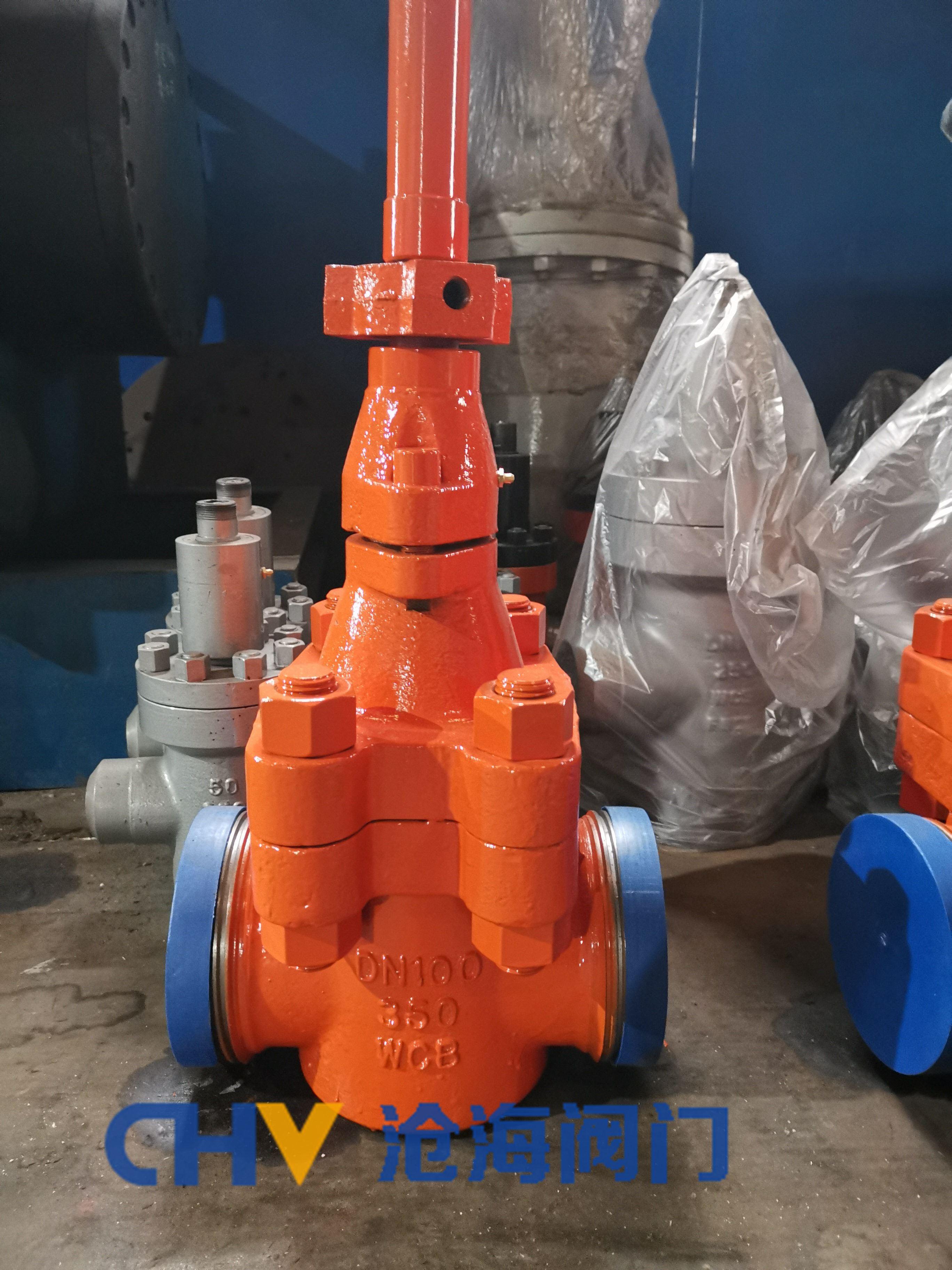 沧海软密封泥浆阀CHZ23X-350
