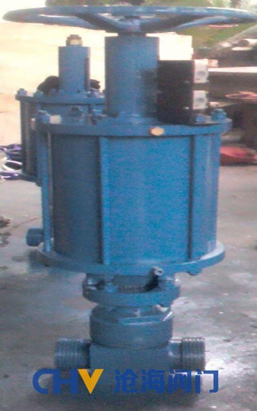 沧海高压气动泥浆阀Z623Y-350