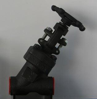 J65Y高压直流式Y型截止阀