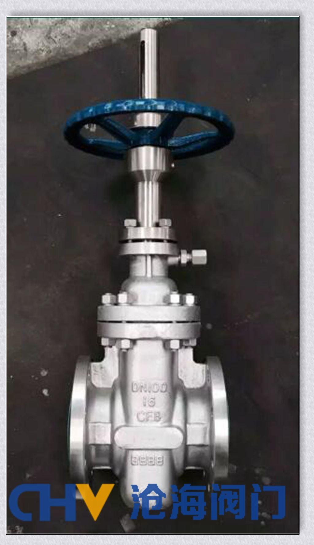KZ43W抗硫不锈钢平板闸阀