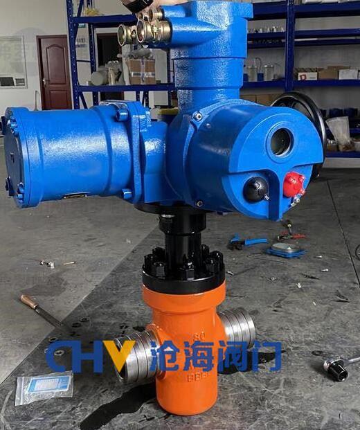 煤矿防爆电动超高压闸阀ZF9B63Y-200
