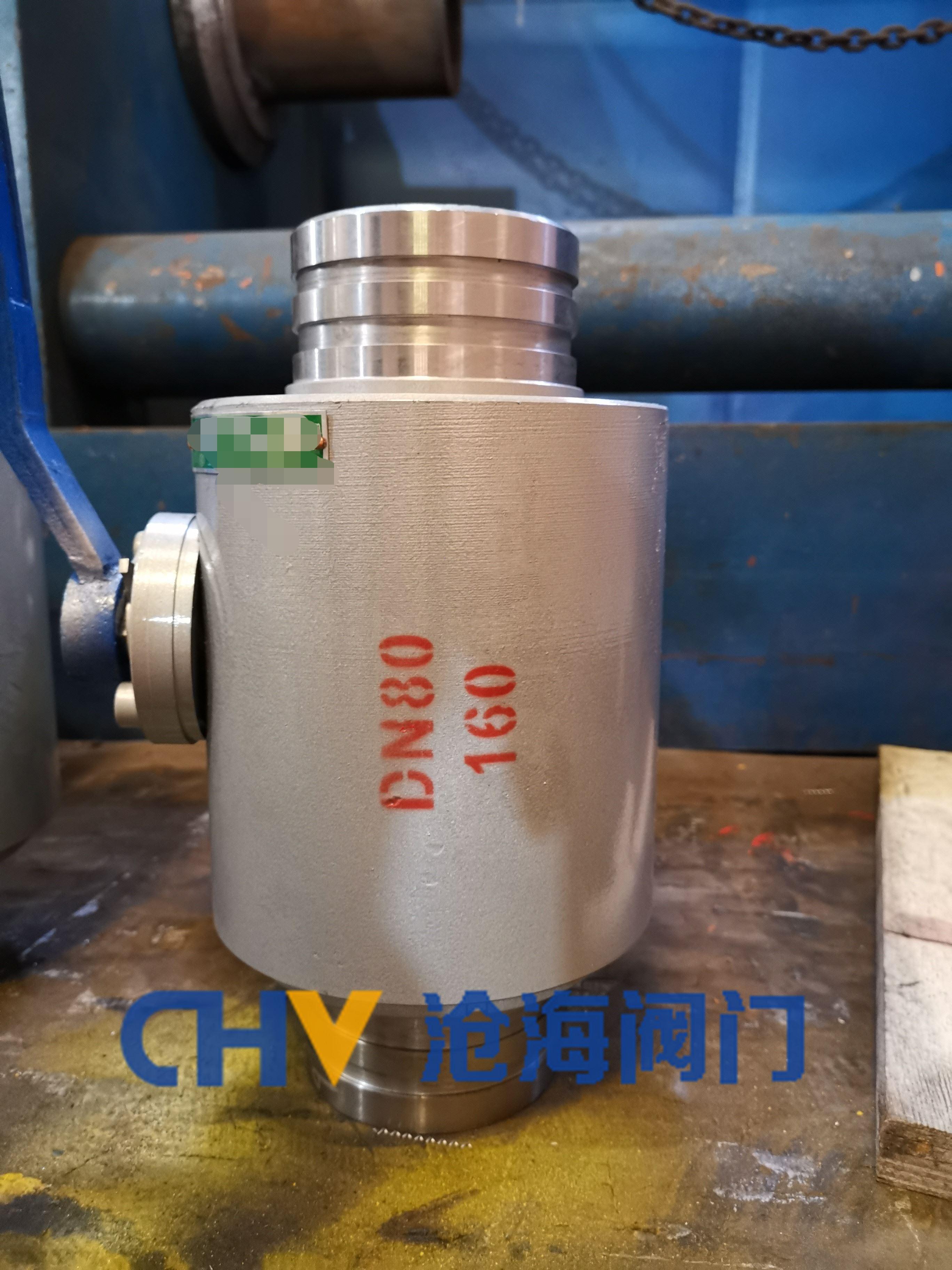 Q80CG-400煤矿超高压三沟槽球阀