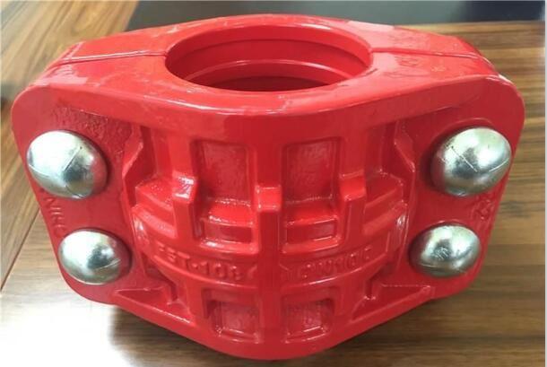 煤矿特高压管卡 沟槽管道连接器